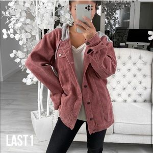 ekattire Jackets & Coats - KENNEDY— in Dark Rose